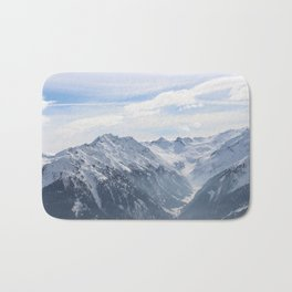 Wunderfull Snow Mountain(s) 2 Bath Mat