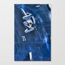 Battleship Texas Canvas Print