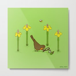 Perfect Disguise  Metal Print