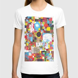 Microcosm Collage T-shirt