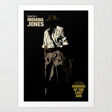 Indiana Jones: Raiders of the Lost Ark Art Print