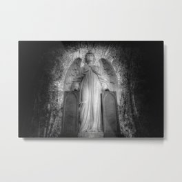 Angel Watching Over You Metal Print