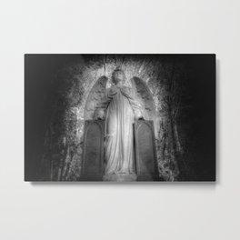 Angel Watching Over You Metal Print