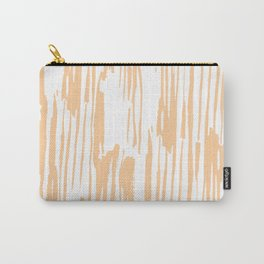 Modern Coral Stripes IV Carry-All Pouch