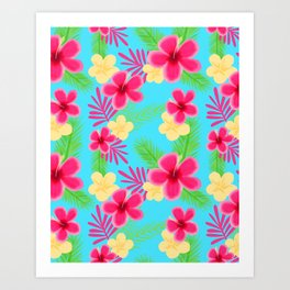 05 Hawaiian Shirt Art Print