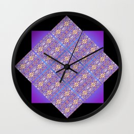 Fluid Abstract 07 Wall Clock