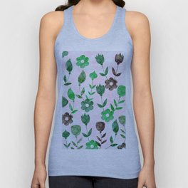 Watercolor Floral IV Unisex Tank Top