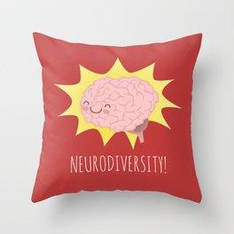Neurodiversity! Throw Pillow