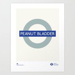 Peanut Bladder   TFL Art Print
