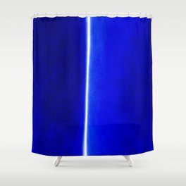 Photon Streak Shower Curtain