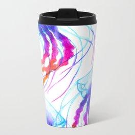 Jellyfish Daydreams Metal Travel Mug