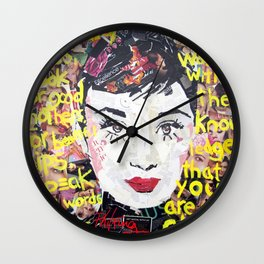 Pieces of Audrey Wall Clock