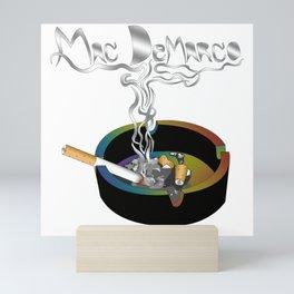 Mac DeMarco Ashtray Smoke Mini Art Print