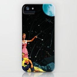 Luxurious Lunar Larking iPhone Case