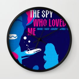James Bond Golden Era Series :: The Spy Who Loved Me Wall Clock