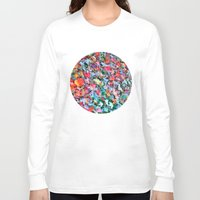 blanket Long Sleeve T-shirts featuring Autumn Blanket by Angela Pesic