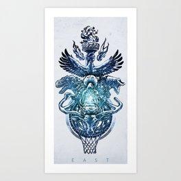NBA Eastern Conference Art Print