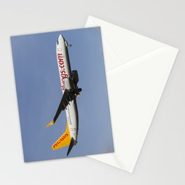 Pegasus Airlines Boeing 737 Stationery Cards