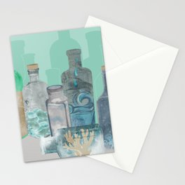 Deconstructed Beach Stationery Cards