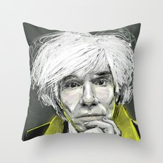 Andy 1 Throw Pillow
