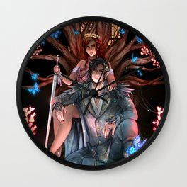 The Cruel Prince Wall Clock