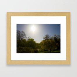 Sunny Day at the Estate Framed Art Print