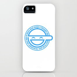 The Laughing Man iPhone Case