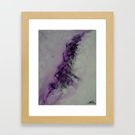 The Power of Purple Framed Art Print