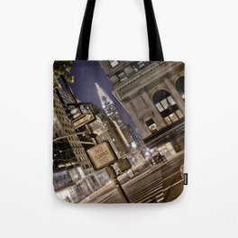 Chrysler Building - New York Artwork / Photography Tote Bag
