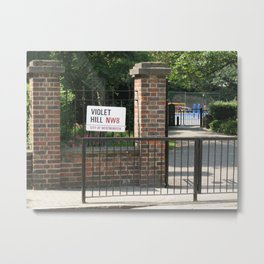 Violet Hill, London Metal Print