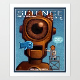 Science Mysteries Art Print