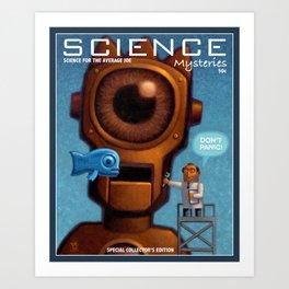 Science Mysteries Art Print