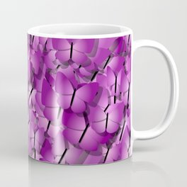 pink magenta butterflies Coffee Mug