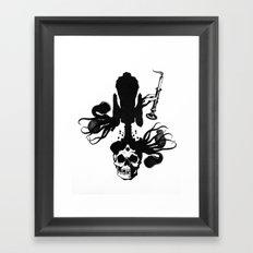 Flesh, Bone, Blood, Love Framed Art Print