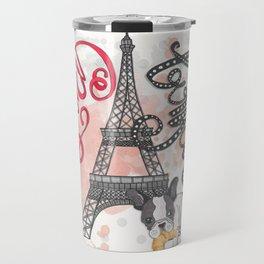 Paris Bonjour Travel Mug