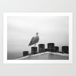 Who are you looking at Art Print
