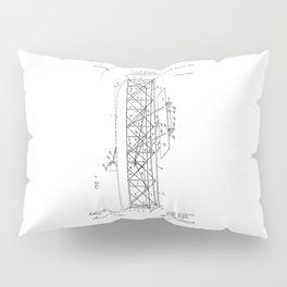 Wright Brothers Patent: Flying Machine Pillow Sham