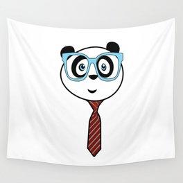 Panda Nerd Wall Tapestry