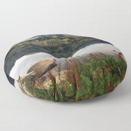 Mountain Lake! Floor Pillow