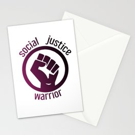Social justice warrior Stationery Cards