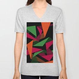 Triangular Lines Unisex V-Neck