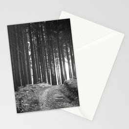 Forest (Black and White) Stationery Cards