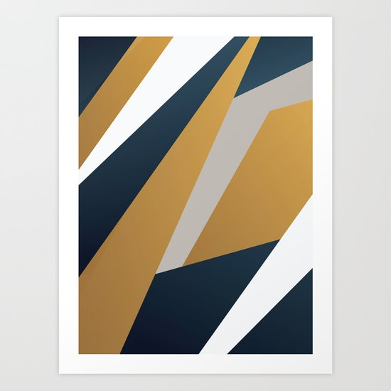 ABSTRACT 9a9 Art Print