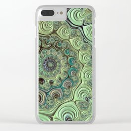 Clockworks Clear iPhone Case