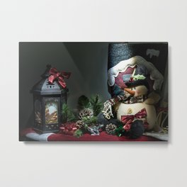 A Christmas Look Metal Print