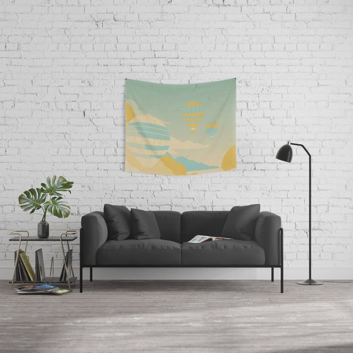 In The Clouds Wall Tapestry
