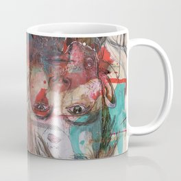 Thom Yorke by Leo Tezcucano Coffee Mug