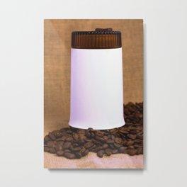 GDR coffee grinder Metal Print
