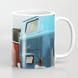 Colorful Buses Coffee Mug