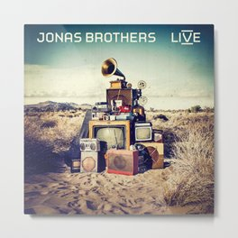 JONAS BROTHERS IYENG 8 Metal Print